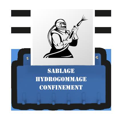 Sablage - Hydrogommage - Confinement